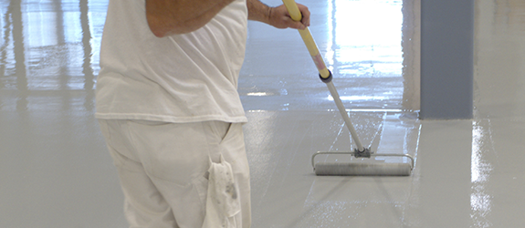 Floor coating in Allendale Charter Township, MI